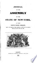 Journal of the Assembly, New York (State).