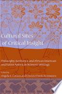 Cultural Sites of Critical Insight