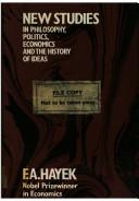 New Studies in Philosophy  Politics  Economics and the History of Ideas