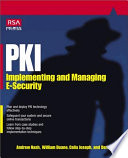 PKI  Implementing   Managing E Security
