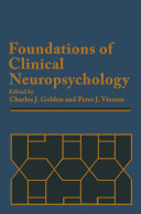 download ebook foundations of clinical neuropsychology pdf epub