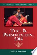 Text & Presentation, 2014