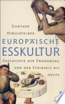 Europäische Esskultur