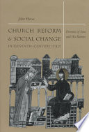 Church Reform and Social Change in Eleventh Century Italy