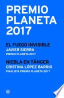 Premio Planeta 2017  ganador y finalista  pack
