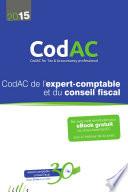 CodAC de l expert comptable et du conseil fiscal 2015