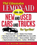 Lemon Aid New and Used Cars and Trucks 1990 2016
