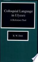 Colloquial Language In Ulysses