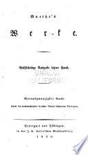 Goethes Werke