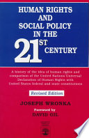 Human Rights and Social Policy in the 21st Century