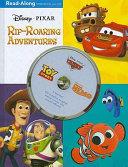 3 in 1 Read Along Storybook and CD  Disney   Pixar Rip Roaring Adventures