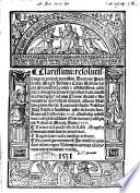 Clarissimi      Ioannis a Celaia Valentini Scripta quam breuissima pariter   absolutissima  adde etiam   omniumque hactenus scripta sunt facile clarissima      secundum triplicem viam diui Thome realium   nominalium in secundum librum Sententiarum  Que in Valentino gymnasio die Lune decimo septimo kalendas Iulij statim a lucalibus ipsis inchoata sunt  Anno a Christo nato  1528  Quibusque iustissimus colophon additus est die mercurij ad septimum kalendas Marcij  Anno 1529  Textus etiam eiusdem secundi libri Magistri Sententiarum  Petrus Lombardus  suis locis insertus