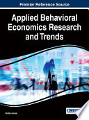 Applied Behavioral Economics Research And Trends