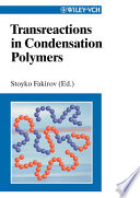 Transreactions In Condensation Polymers book
