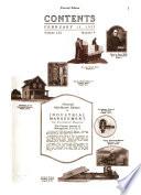 Industrial Management Vol LXI No 1 1921
