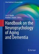 download ebook handbook on the neuropsychology of aging and dementia pdf epub