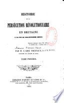 Histoire de la persécution révolutionnaire en Bretagne