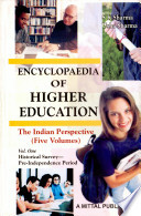 Encyclopaedia of Higher Education  Historical survey pre independence period
