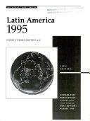 Latin America 1995