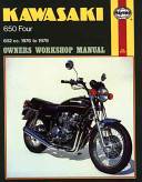 Kawasaki KZ650 Four Owners Workshop Manual  No  M373