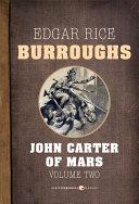 download ebook john carter of mars, volume 2 pdf epub