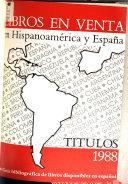 Libros En Venta En Hispanoam Rica Y Espa A