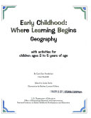 Early childhood  where learning begins