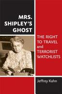 Mrs. Shipley's Ghost