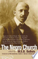 The Negro Church book