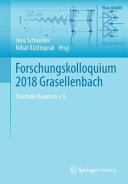 Forschungskolloquium 2018 Grasellenbach