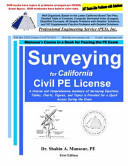 Surveying for California Civil PE License