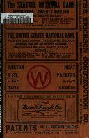 Oregon and Washington State Gazetteer and Business Directory