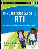 The Essential Guide to RTI