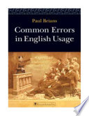 Common Errors In English Usage Paul Brians 2008