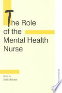 The Role of the Mental Health Nurse