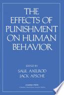 Effects of Punishment on Human Behavior