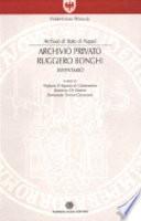 Archivio privato Ruggiero Bonghi