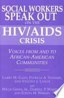 download ebook social workers speak out on the hiv/aids crisis pdf epub