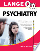 Lange Q A Psychiatry 11th Edition