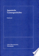 Japanische Geistesgeschichte
