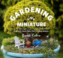 Gardening in Miniature Garden Care And Maintenance Tips And Outlining