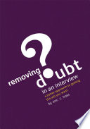 Removing Doubt in an Interview