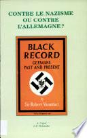 Contre le nazisme ou contre l'Allemagne?