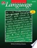 Assessing Language - Grade 6 (ENHANCED eBook)