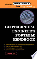 Geotechnical Engineer s Portable Handbook