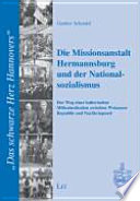 Die Missionsanstalt Hermannsburg und der Nationalsozialismus