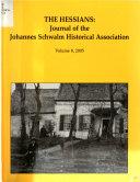 Journal of the Johannes Schwalm Historical Association  Inc