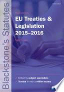 download ebook blackstone's eu treaties & legislation 2015-2016 pdf epub