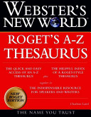 Webster s New World Roget s A z Thesaurus