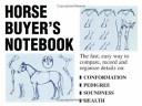 Horse Buyer s Notebook